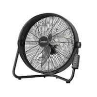 Lasko High Velocity Wall Mountable Floor Fan with Remote Control
