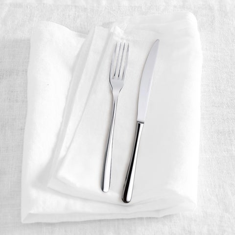 Washed Belgian Linen Napkins (Set of 4)