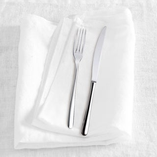 Washed Belgian Linen Napkins (Set of 4) (4 options available)