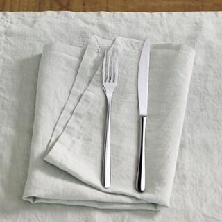 Washed Belgian Linen Napkins (Set of 4)