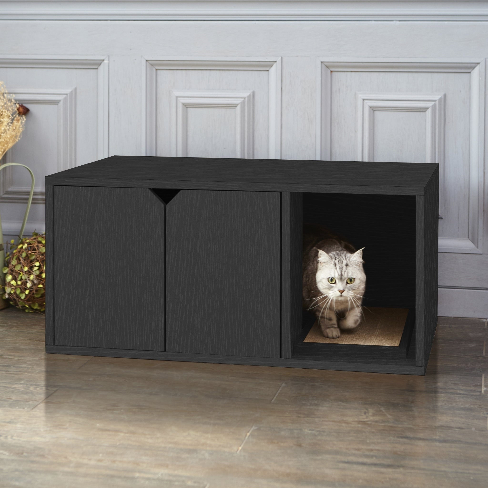 Eco Modern Cat Litter Box Furniture