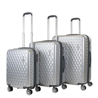 AGT Ellis 3-piece TSA Lock Hardside Spinner Luggage Set