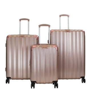 American Green Travel Melrose II 3-piece Hardside Spinner Luggage Set