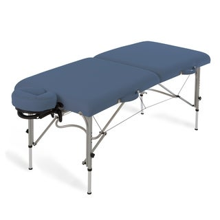 EarthLite Luna Lightweight Aluminum Frame Portable Massage Table Package