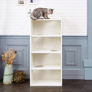 Eco Friendly 4-Shelf Cat Jumping Furniture, White LIFETIME GUARANTEE