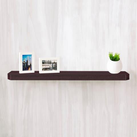 "Eco 36"" Uniq Floating Wall Shelf, Espresso LIFETIME GUARANTEE"