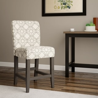 """HomePop Classic 24"""" Parsons Counter Stool - 24 inches"""