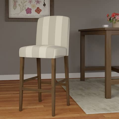 """HomePop Curved Back 29"""" Barstool - 29 inches"""