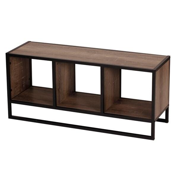 Carbon Loft Woods Ashwood Coffee Table with Storage Shelf