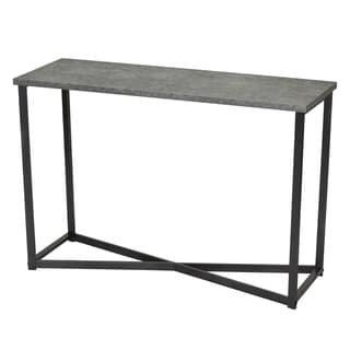 Household Essentials Faux Slate Sofa Table