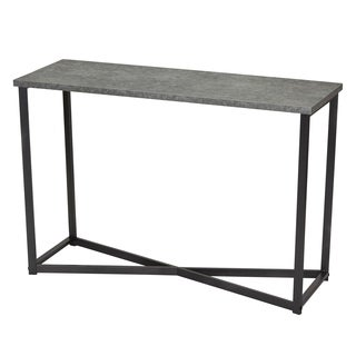 Carbon Loft Cartwright Faux Slate Sofa Table