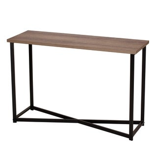 Household Essentials Sofa Table, Ashwood