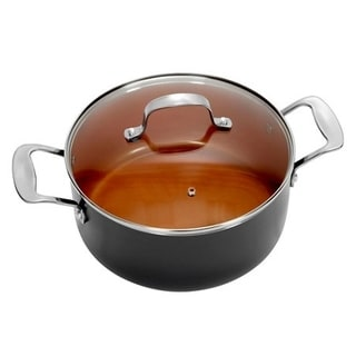 Gotham Steel Non-stick Copper 7 QT Stock Pot