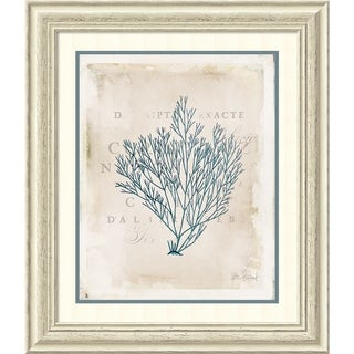 Framed Art Print 'Sea Garden II' by Katie Pertiet 25 x 29-inch