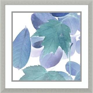 Framed Art Print 'Xray Leaves III' by Vision Studio 22 x 22-inch