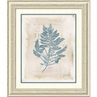 Framed Art Print 'Sea Garden III' by Katie Pertiet 25 x 29-inch