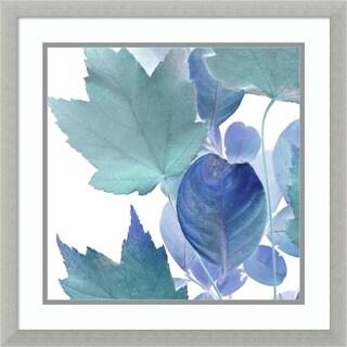 Framed Art Print 'Xray Leaves IV' by Vision Studio 22 x 22-inch