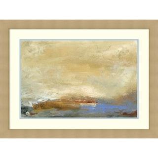 Framed Art Print 'Coast View  I' by Sharon Gordon 32 x 24-inch