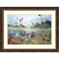 Framed Art Print 'Garden Delight' by Noah Desmond 44 x 33-inch