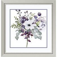 Framed Art Print 'Bohemian Bouquet I' by Grace Popp 27 x 27-inch