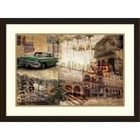 Framed Art Print 'Cuba' by Graphinc 31 x 23-inch
