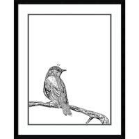 Framed Art Print 'Bird III' by Graphinc 24 x 30-inch
