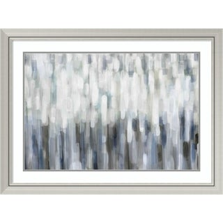 Framed Art Print 'Silver Rain' by Karen Lorena Parker 42 x 31-inch