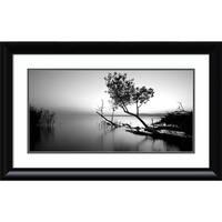 Framed Art Print 'Great Lake' by PhotoINC Studio 32 x 20-inch