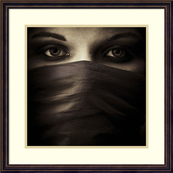 Framed Art Print 'Covered' by PhotoINC Studio 23 x 23-inch