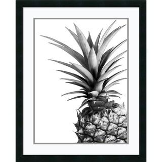 Framed Art Print 'Pineapple' by Lexie Greer 25 x 31-inch