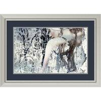Framed Art Print 'Mystery Girl' by Graphinc 33 x 24-inch