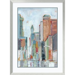 Framed Art Print 'Downtown Contemporary I' by Ethan Harper 28 x 38-inch