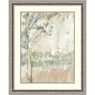 Framed Art Print 'Ethereal Tree I' by Jennifer Goldberger 26 x 32-inch