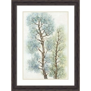 Framed Art Print 'Tranquil Tree Tops I' by Tim O'Toole 24 x 32-inch