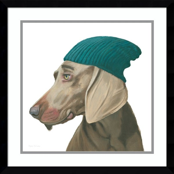 Shop Framed Art Print The Boys Vi Dog By Myles Sullivan 21 X 21