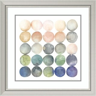 Framed Art Print 'Color Relationships II' by Megan Meagher 29 x 29-inch