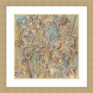Framed Art Print 'Henna Crop' by Danhui Nai 29 x 29-inch