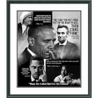Framed Art Print 'Many Are Called But Few Are Chosen' by Wishum Gregory 27 x 31-inch