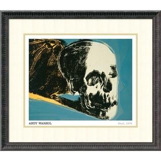 Framed Art Print 'Skull, 1976' by Andy Warhol 28 x 25-inch