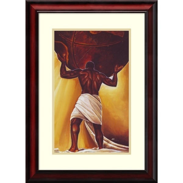 Shop Framed Art Print \'Power of Man\' by WAK-Kevin A. Williams 20 x ...