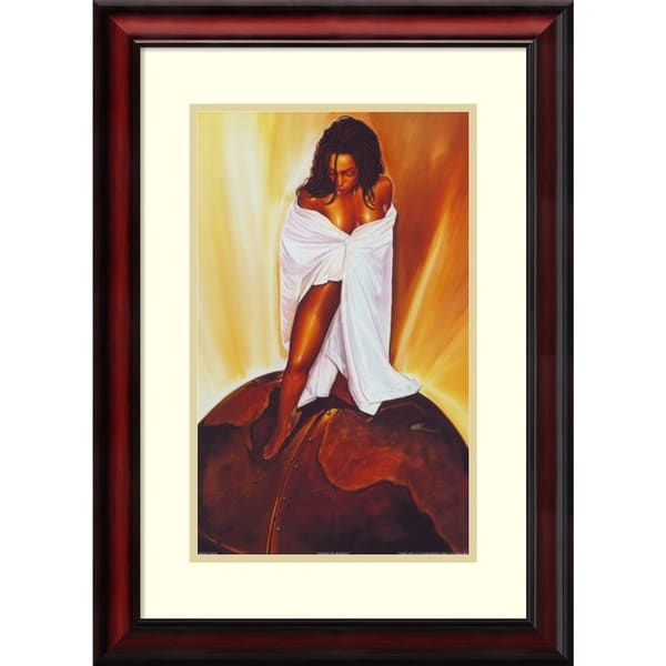 Shop Framed Art Print \'Power of Woman\' by WAK-Kevin A. Williams 20 x ...