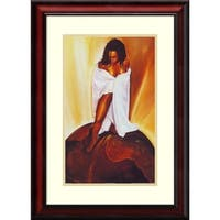 Framed Art Print 'Power of Woman' by WAK-Kevin A. Williams 20 x 26-inch