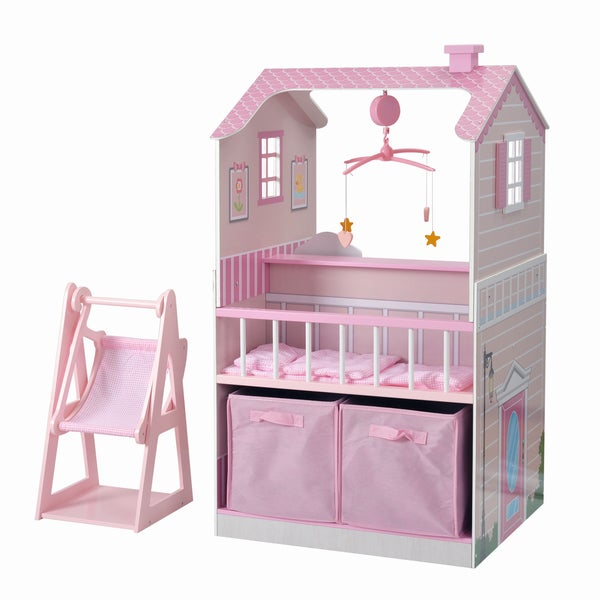 Gentil All In One Baby Doll Nursery Station For 18 Inch Dolls