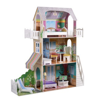 Garden View Estate Doll House For 18 Inch Dolls