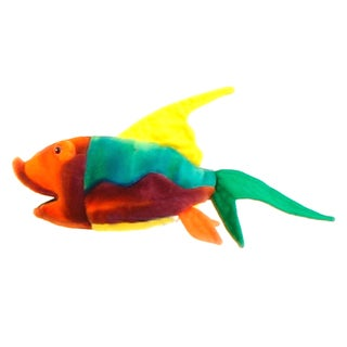 Hansa 9 Inch Plush Fish Number 3