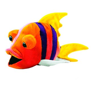 Hansa 10 Inch Plush Fish Number 4
