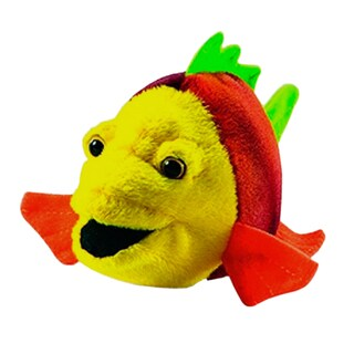 Hansa 6 Inch Plush Fish Number 7