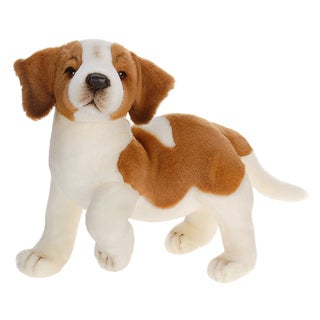 Hansa 14 Inch Plush St Bernard Puppy