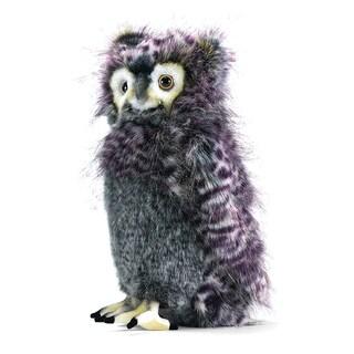 Hansa 14 Inch Plush Grey Bubo Owl