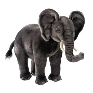 Hansa 17 Inch Plush African Elephant